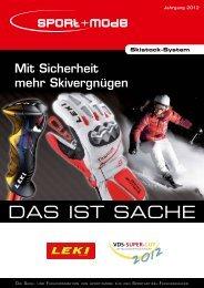 Mit Sicherheit mehr Skivergnügen - sport+mode