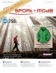 Vorausgabe OutDoor - sport+mode