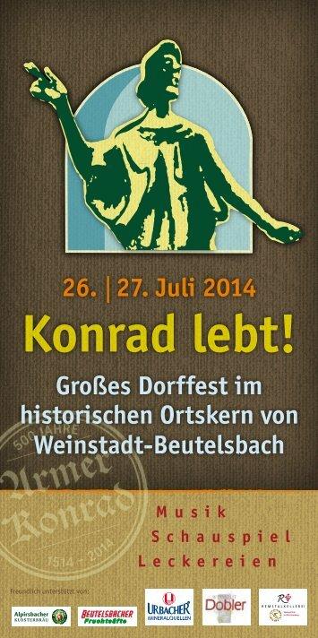 Konrad lebt!