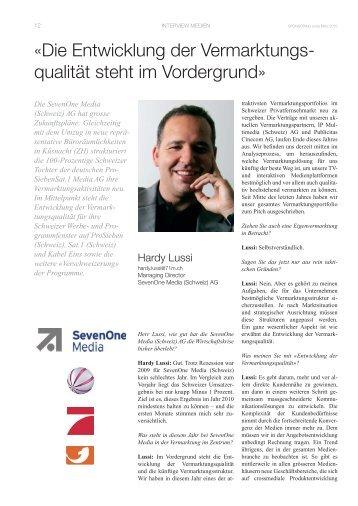 SevenOne Media Schweiz-03-2010 - Sponsoring Extra