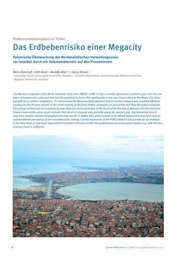 Das Erdbebenrisiko einer Megacity