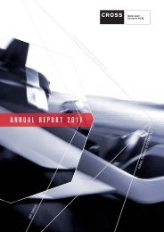 Annual Financial Report 2011 - CROSS Motorsport Systems AG