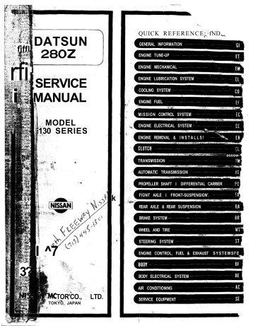 1975 Datsun 280z FSM - Spooled up Racing