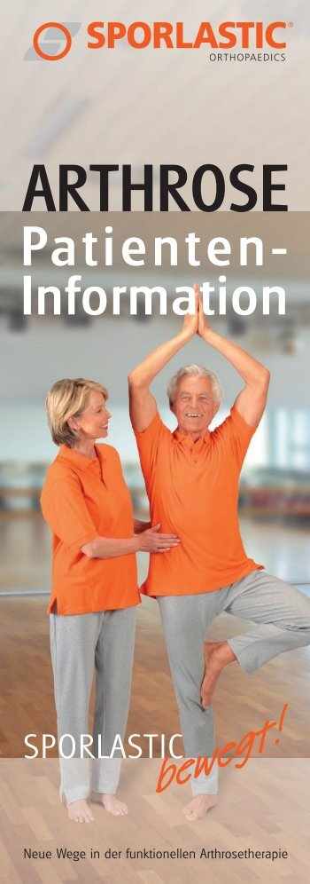 download patienteninformation arthrose - Sporlastic