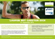 Flyer Carsten Eich 21.9.13 - SPORT education/events