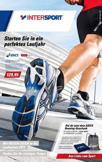 Starten Sie in ein perfektes Laufjahr - Intersport Sport Peter