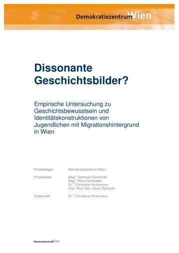 Dissonante Geschichtsbilder? - Demokratiezentrum Wien