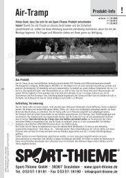 Sport Thieme Soft-Dartpfeile Standard