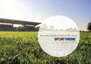 Nachhaltigkeitsbericht 2014 - Sport-Thieme AT