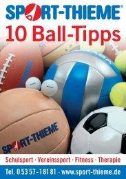 0907416 Balltipps-Flyer - Sport-Thieme AT