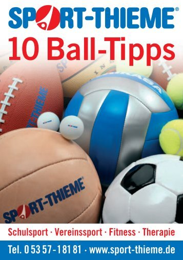 0907416 Balltipps-Flyer - Sport-Thieme AT