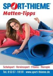 Mattentipps - Sport-Thieme AT