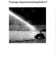 Wartungs- Reparaturanleitung RollearT - Sport-Thieme.ch