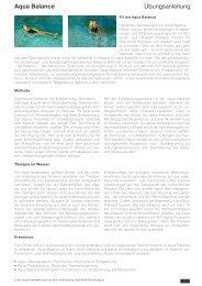Übungsanleitung - Sport-Thieme