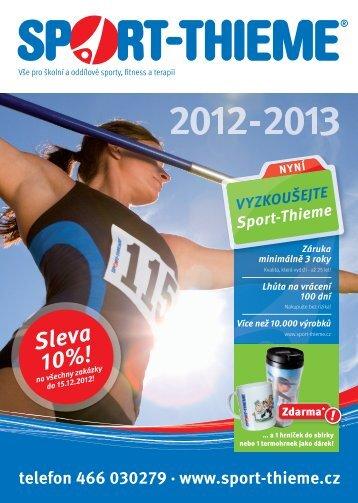 Sleva 10%! - Sport-Thieme AT