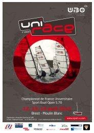 Avis de course - Fédération Française du Sport Universitaire