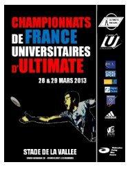 Dossier - Fédération Française du Sport Universitaire