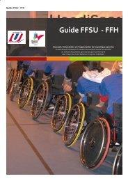 Guide FFSU -‐ FFH - Fédération Française du Sport Universitaire