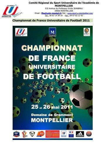 Championnat de France Universitaire de Football 2011
