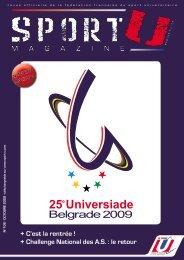 N°106 - octobre 2009 - Fédération Française du Sport Universitaire