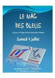 LA MAG DES BLEUS - Fédération Française du Sport Universitaire