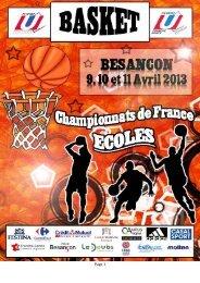 dossier équipes CFE BB - Fédération Française du Sport Universitaire