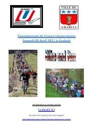 LB-Dossier Championnats de France Universitaires de Bike and ...