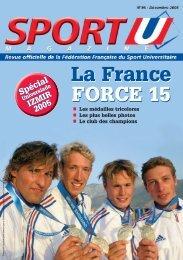 N°96 - Fédération Française du Sport Universitaire