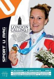 N°112 - juin 2012 - Fédération Française du Sport Universitaire