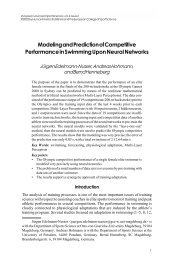 Modeling and Prediction of Competitive Performance - Institut für ...