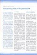 Praxisberatung in der Trainingswissenschaft - Institut für ... - Seite 2