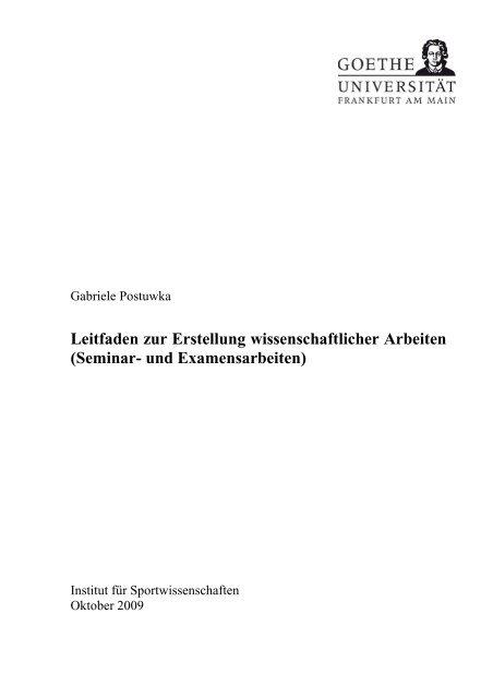 Leitfaden zur Erstellung wissenschaftlicher Arbeiten - Institut für ...