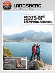 Prospekt herunterladen - SPORT 2000 Landsberg