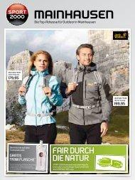 Sport Schindele Zeitungsbeilage Mai 2018