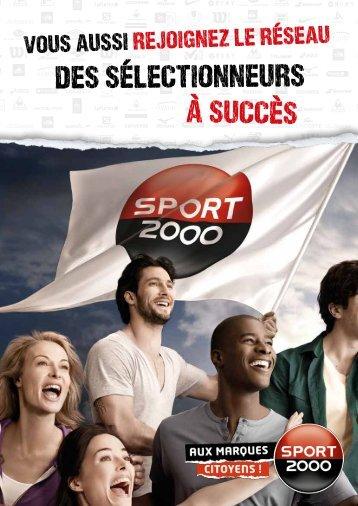 Télécharger la plaquette Groupe Sport 2000