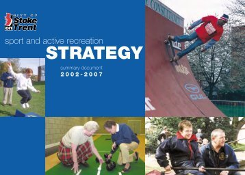 Policy Statement - Sport Across Staffordshire
