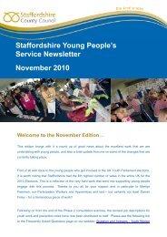 November's edition - Sport Across Staffordshire