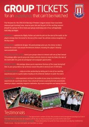 to view the leaflet - Sport Across Staffordshire