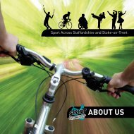 About us - Sport Across Staffordshire