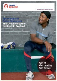 Delivery System for Sport in England - Sport Across Staffordshire