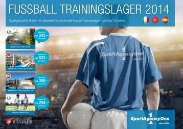Download Katalog 2014 - SportAgencyOne gmbh