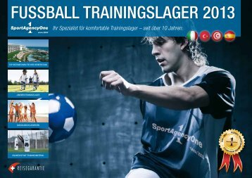Download Katalog 2013 - SportAgencyOne gmbh