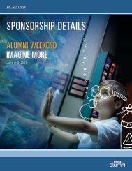 SPONSORSHIP DETAILS - UCSD Alumni - UC San Diego