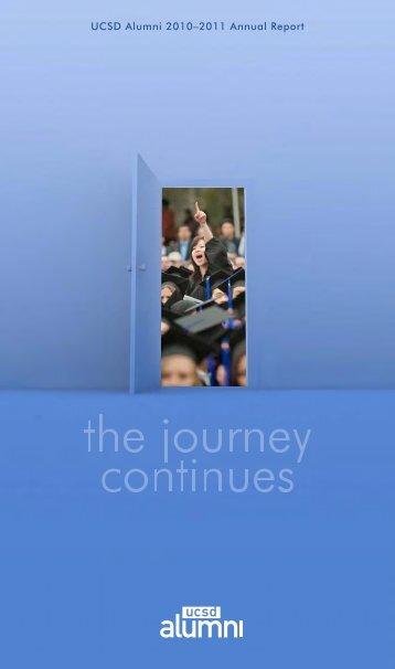 Read 2010-2011 UCSD Alumni Annual Report - UCSD Alumni - UC ...