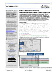 Betrieb & Interpretation von Herzschrittmacher ... - Boston Scientific