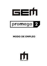 MODO DE EMPLEO - Generalmusic.us