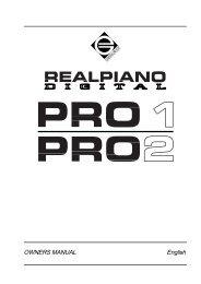 PRO 1 & 2 - Generalmusic.us