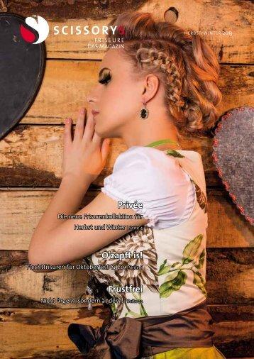SCISSORYS Friseure Das Magazin 2/13