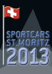 Sponsorenmappe 2013 D - Sportcars St. Moritz