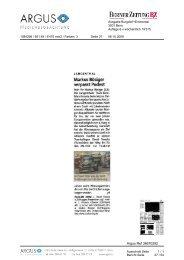 31.2 Medienbeobachtung - sportcenter-huttwil